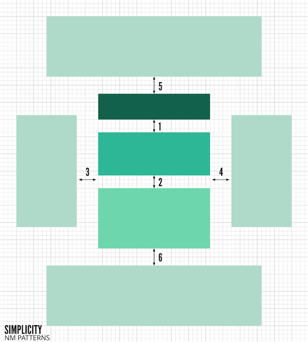 NM Patterns - Simplicity - Block 2 Stacked construction 2015-06-08