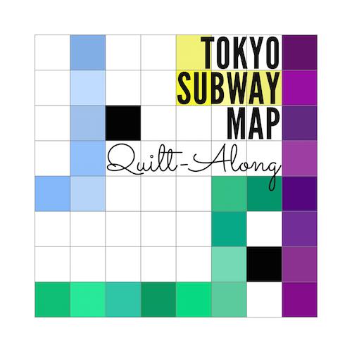Tokyo Subway Map QAL - Button 2015-08-05 500px